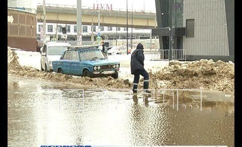 Нижний Новгород поплыл от чрезвычайной ситуации по снегу, к чрезвычайной ситуации по паводку