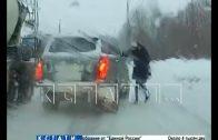 Авто-хам на «рэнджровере», который пытался задавить пострадавшего, попытался убежать от суда