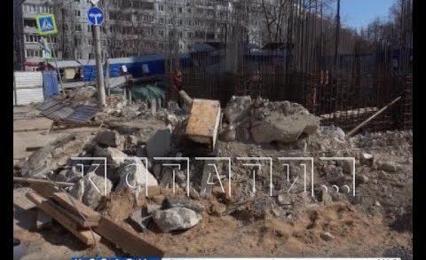 Держать всю грязь внутри заставляет АТИ нижегородских строителей