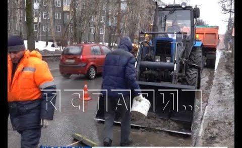 Городские службы продолжают бороться с паводком