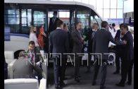 Нижегородская делегация продолжает работу на выставке в Узбекистане