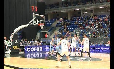 Нижегородские баскетболисты сыграли в эти выходные с питерским «Зенитом»