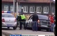 Пьяный водитель, уходя от погони ГИБДД, протаранил три автомобиля