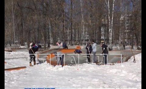 Субботники по благоустройству проходят во всех районах Нижнего Новгорода