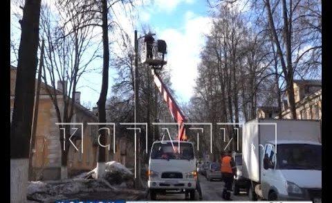 Тотальная замена уличного освещения будет проведена к 800-летию Нижнего Новгорода