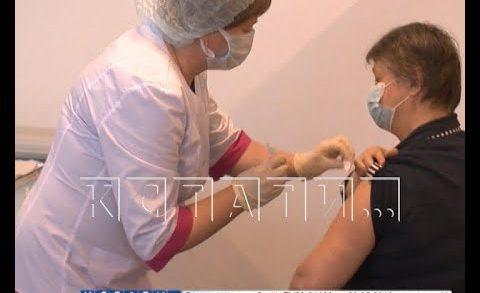 В Нижегородских торговых центрах началась вакцинация от коронавируса