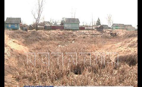 За одну ночь озеро в деревне Чернуха провалилось под землю не оставив и следа