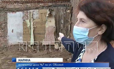 Без кола и двора оставили власти Нижегородского района жителей частного дома с улицы Обозной