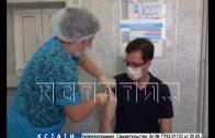 Мэр Нижнего Новгорода сделал прививку от COVID-19