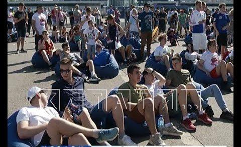 Пренебрежение санитарными нормами устроили на стадионе «Нижний Новгород»