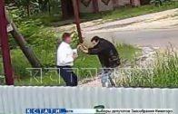 Руководитель ГУФСИН по воспитательной работе в форме и при погонах ввязался в драку с соседом