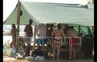 Фестиваль сексуальных извращений тайно от полиции, но с рекламой для всех , проводят на берегу Волги
