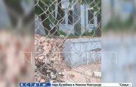 Разрушение памятника культурного наследия началось на Верхне-Волжской набережной
