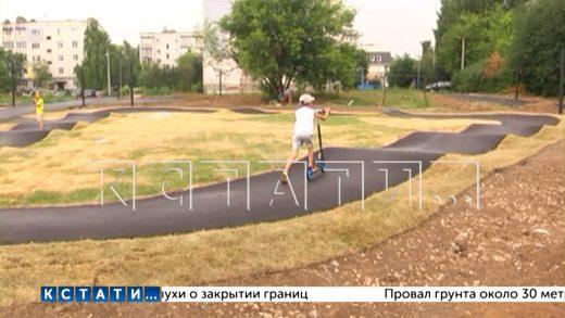 В Лыскове в рамках нацпроекта проходят работы по благоустройству парка