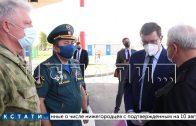 Губернатор Глеб Никитин держит на контроле ситуацию с пожаром в Мордовском заповеднике
