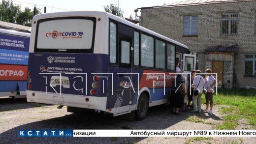 «Поезд здоровья» прибыл в Сергачский район