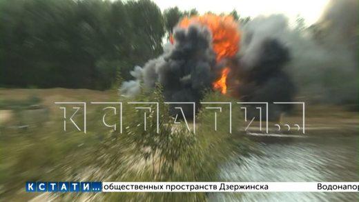 Военные учатся наводить мосты — уникальные учения в Нижегородской области
