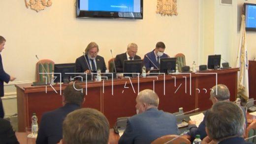 На последнее в этом созыве заседание собрались депутаты областного Законодательного Собрания