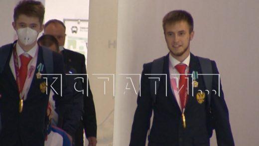 Нижегородские спортсмены с триумфом вернулись с паралимпийских игр