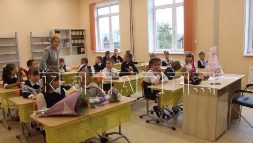 Новая школа на 500 учеников открылась в поселке Варнавино