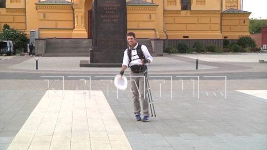 Обойти всю Россию на своих ногах — пеший странник идет по Нижегородской области