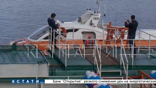 Суда на подводных крыльях связали Нижний Новгород и Балахну