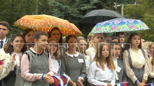 В День знаний в Нижегородской области за парты сели 350000 учеников