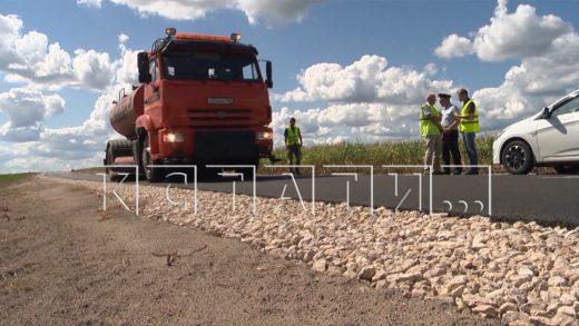 В области уже выполнено более 60% работ по проекту «Безопасные и качественные автодороги»