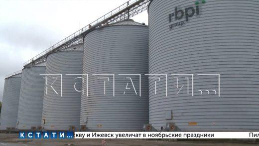 В Перевозе запущен крупнейший в Нижегородской области элеваторный комплекс